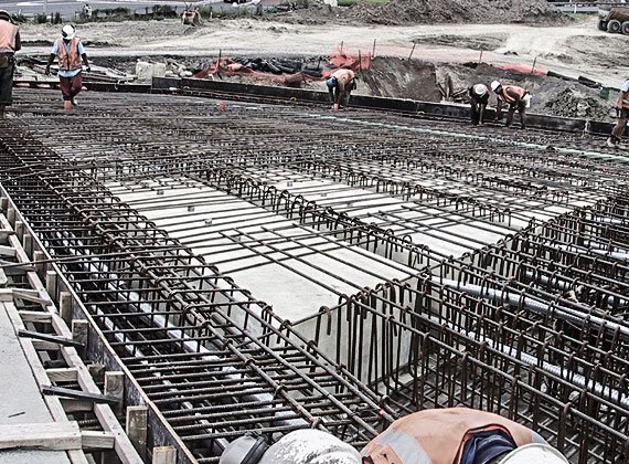 Post Tensioning Bar : Post tensioning grouting services